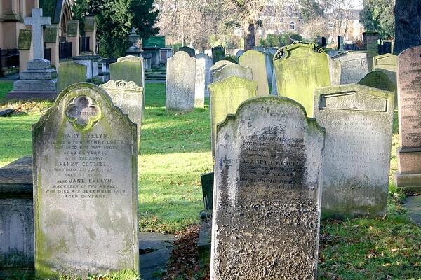 Old Cemetery in London