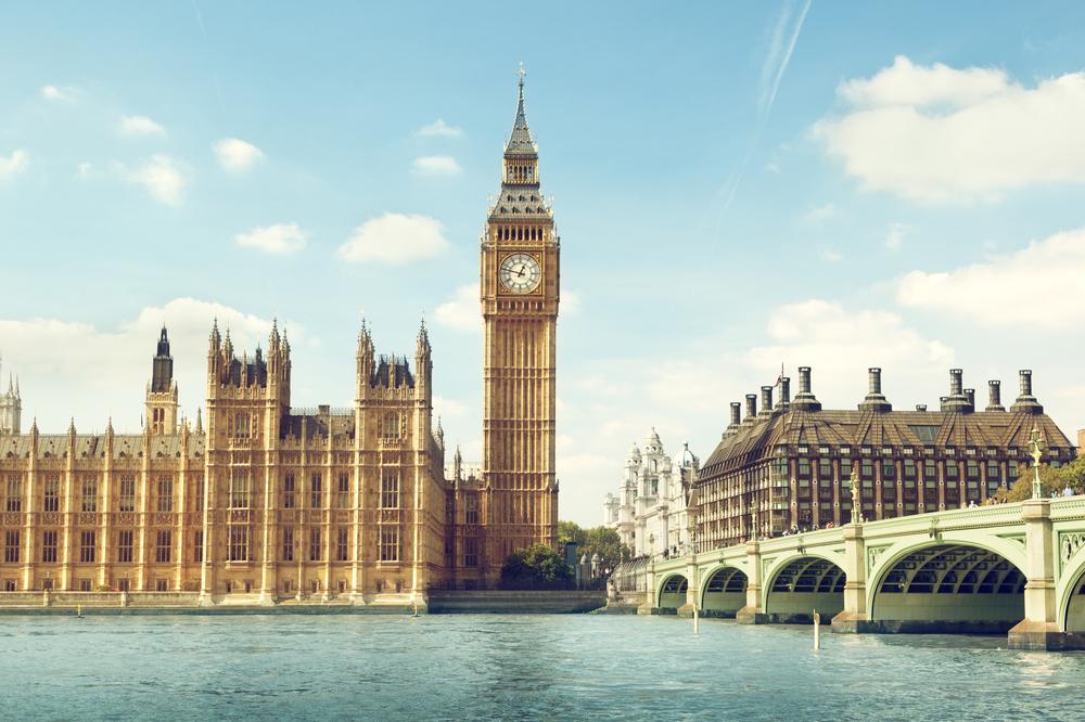 London eye y palacio de westminster en Inglaterra. Blog sobre vocabulario de vacaciones en ingles gratis